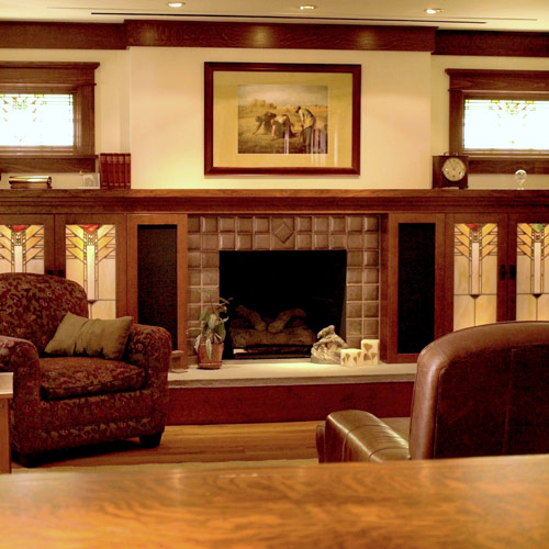 Cabinets And Fireplace Surrounds: Earthwood Builders Inc