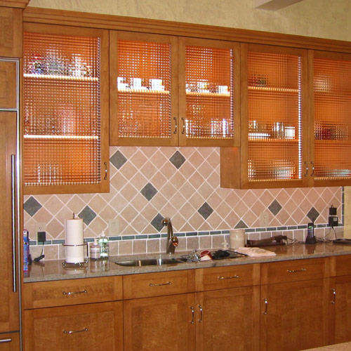 Kitchen Cupboards With Glass Inserts: Earthwood Builders Inc