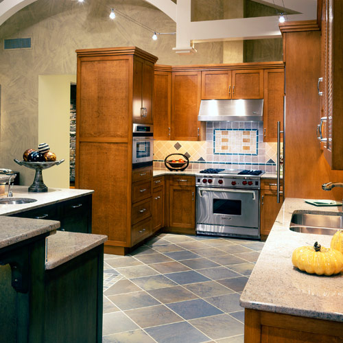 Maple Kitchen Countertops: Earthwood Builders Inc